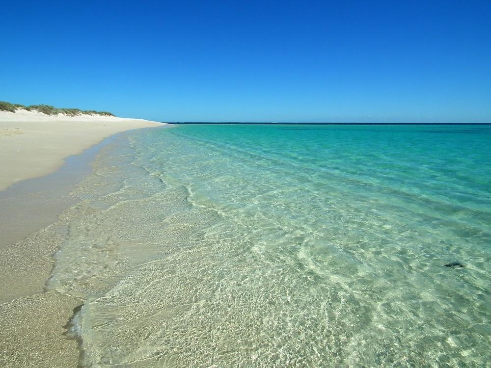 Turquoise Bay, dans le Cape Range National Park, dans l'État du Western Australia