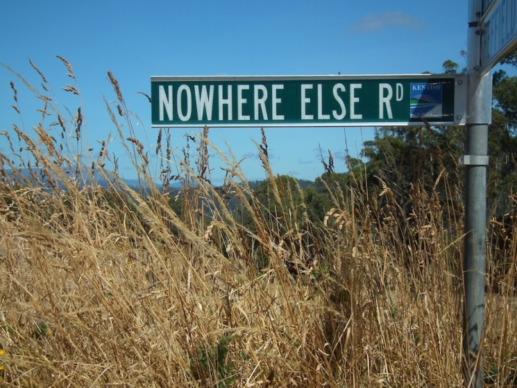noms de lieux étonnants en australie