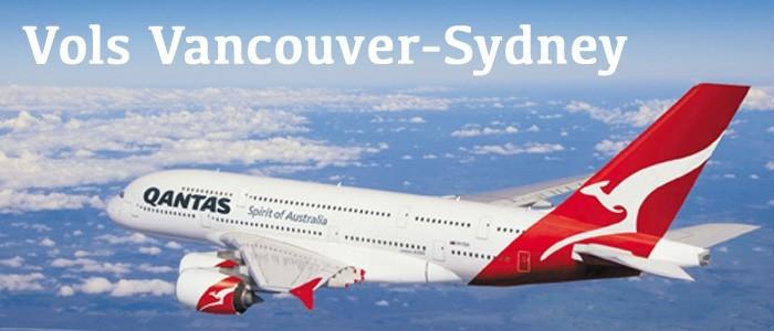 Qantas introduit les vols Vancouver-Sydney