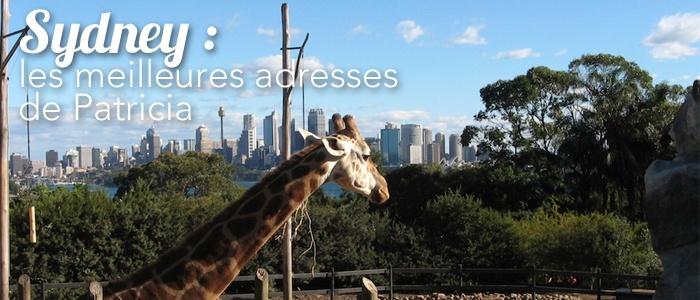 Sydney : les meilleures adresses de Patricia