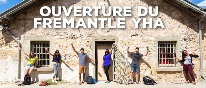 Ouverture du Fremantle YHA – dans une prison!