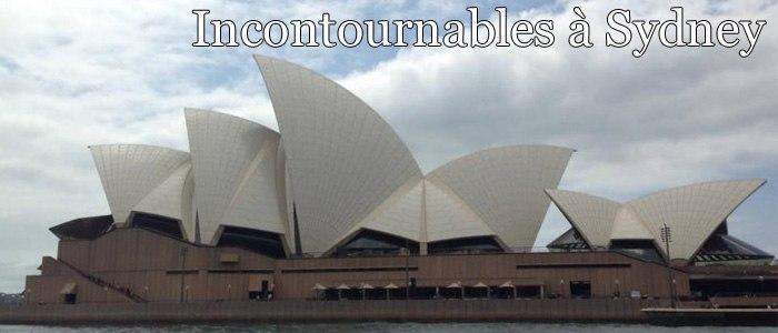 Incontournables à Sydney
