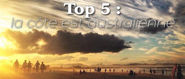 Top 5 : côte est australienne