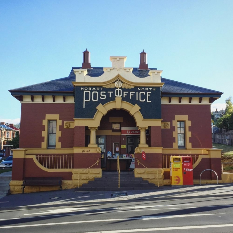 Bureau de poste, North Hobart