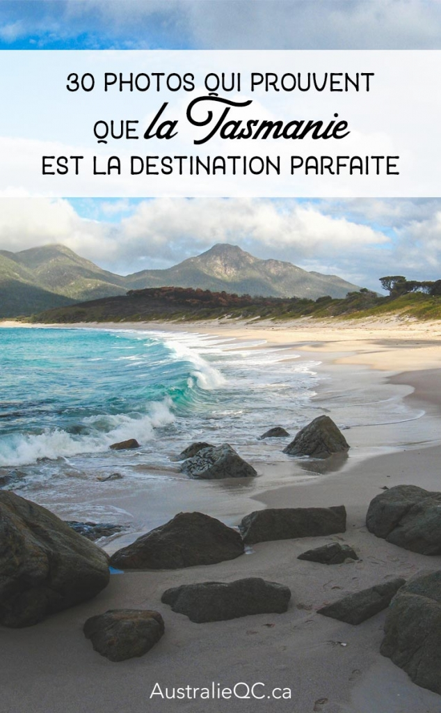 Image pour Pinterest : tasmanie photos