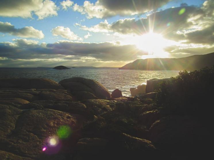 Coucher de soleil à Albany, Western Australia