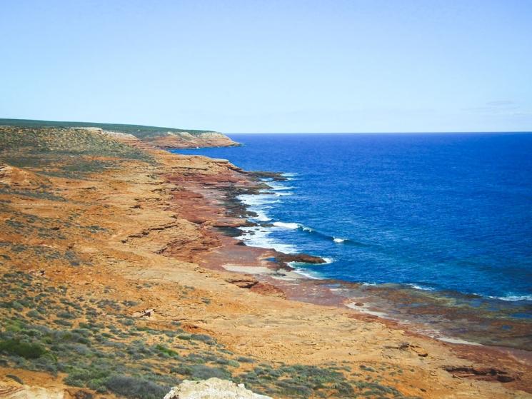Paysage à Kalibarri, Western Australia