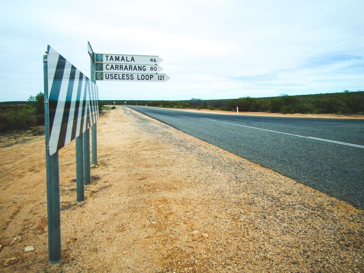 Useless Loop, Western Australia