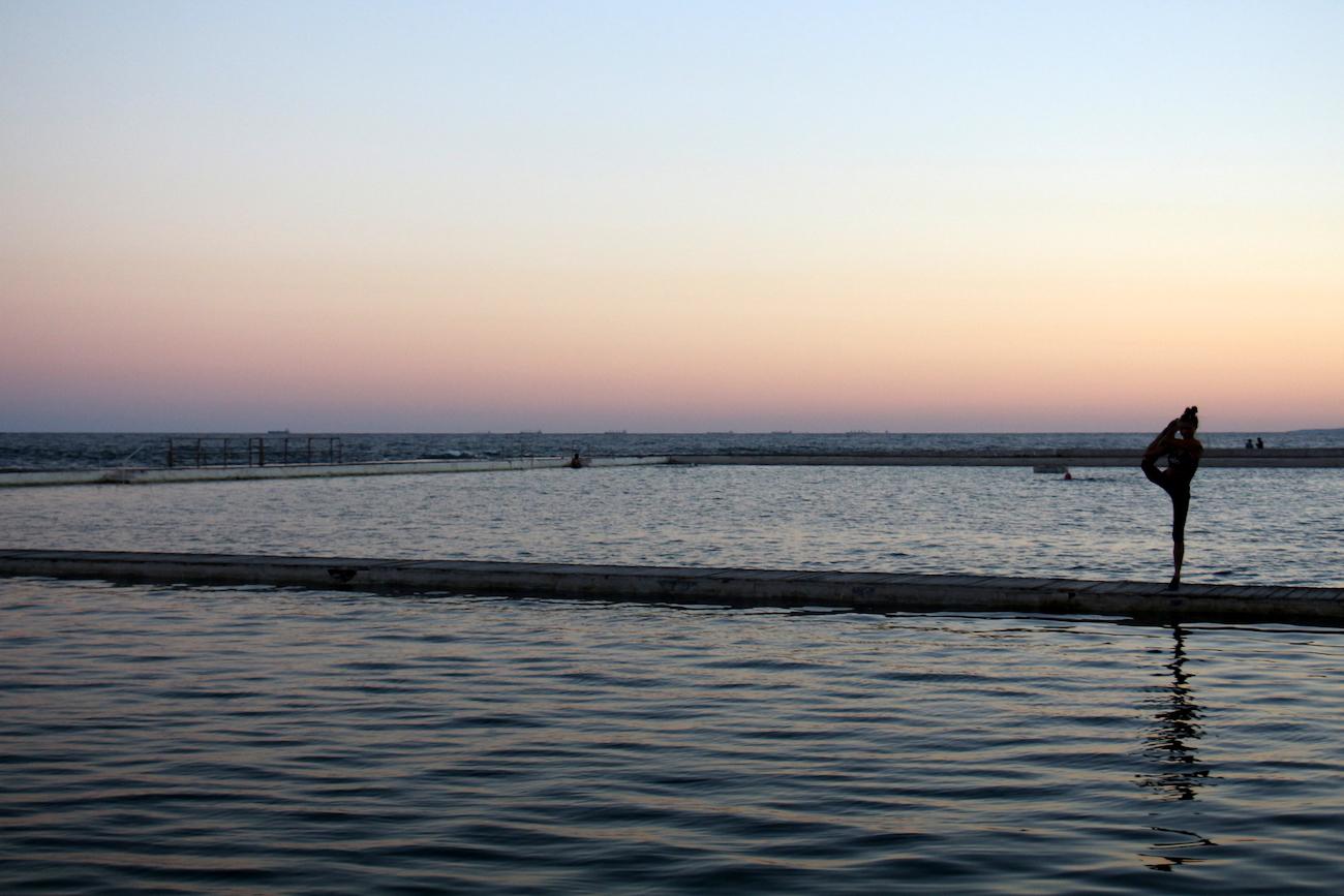 coucher de soleil Newcastle