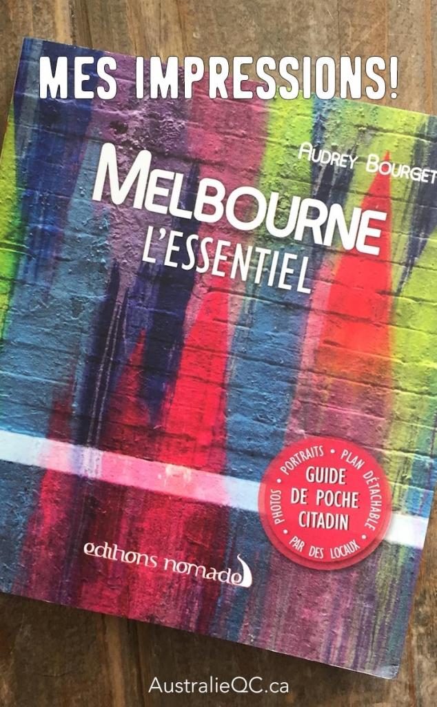 Image pour Pinterest : Melbourne l'essentiel
