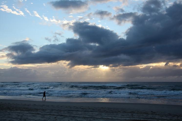 Lever de soleil sur Main Beach