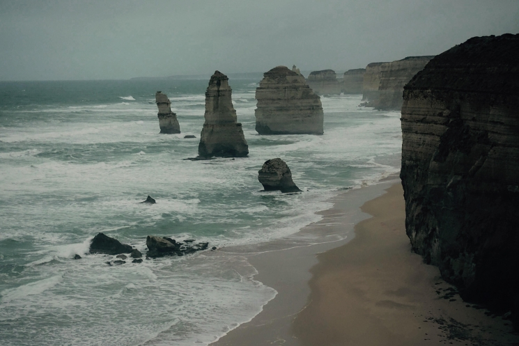 Twelves Apostles nuit Great Ocean Road