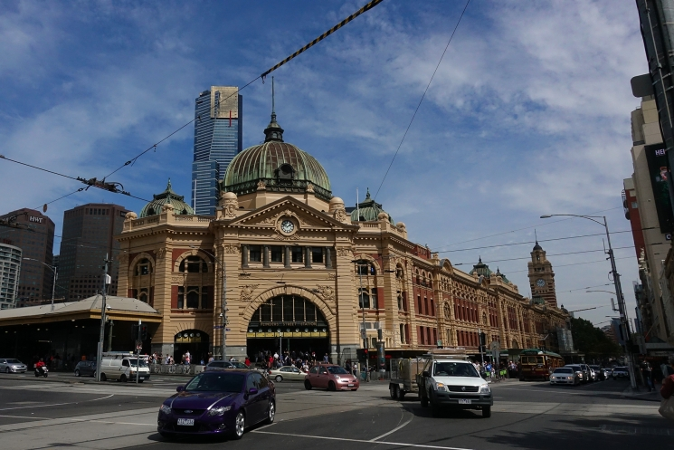 Gare Flinders Street Melbourne