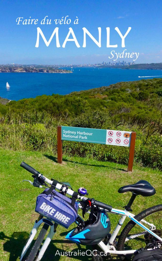 Faire du vélo à Manly Sydney