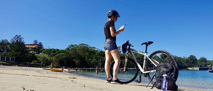 Faire du vélo à Manly