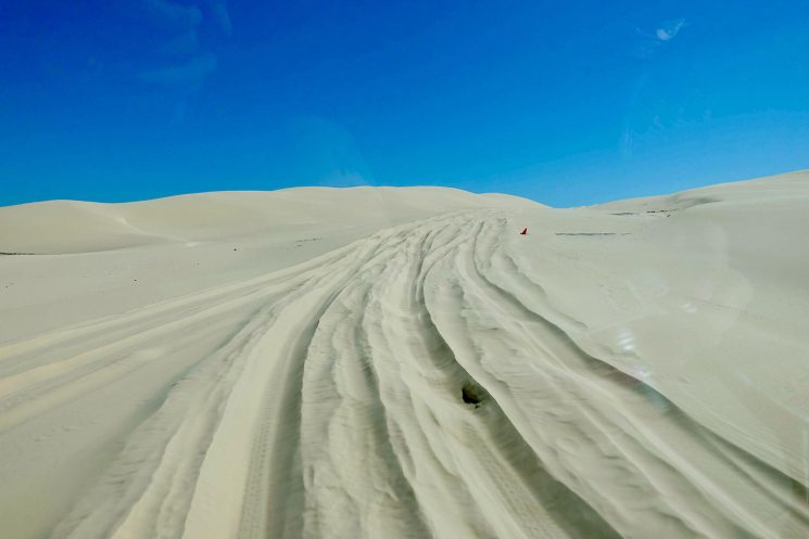 Port Stephens desert