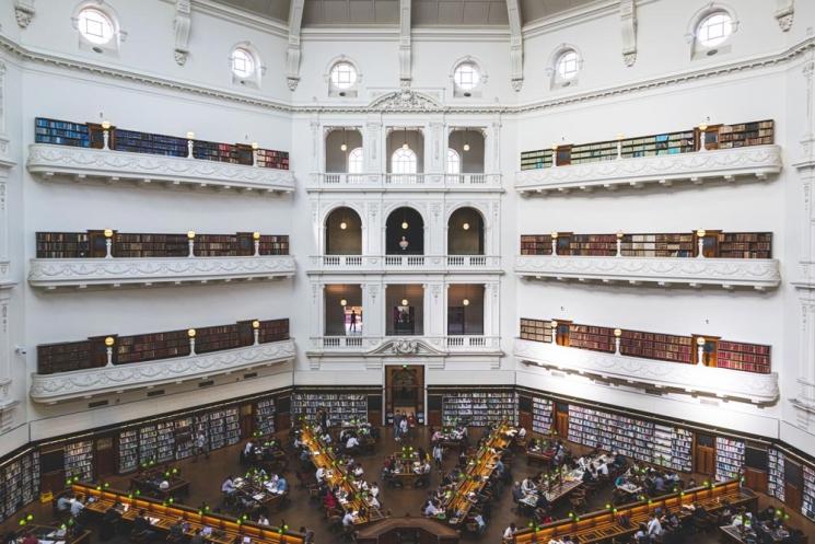 Bibliothèque d'État du Victoria