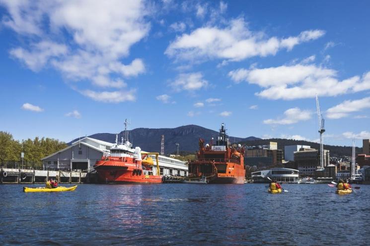 Kayak à Hobart