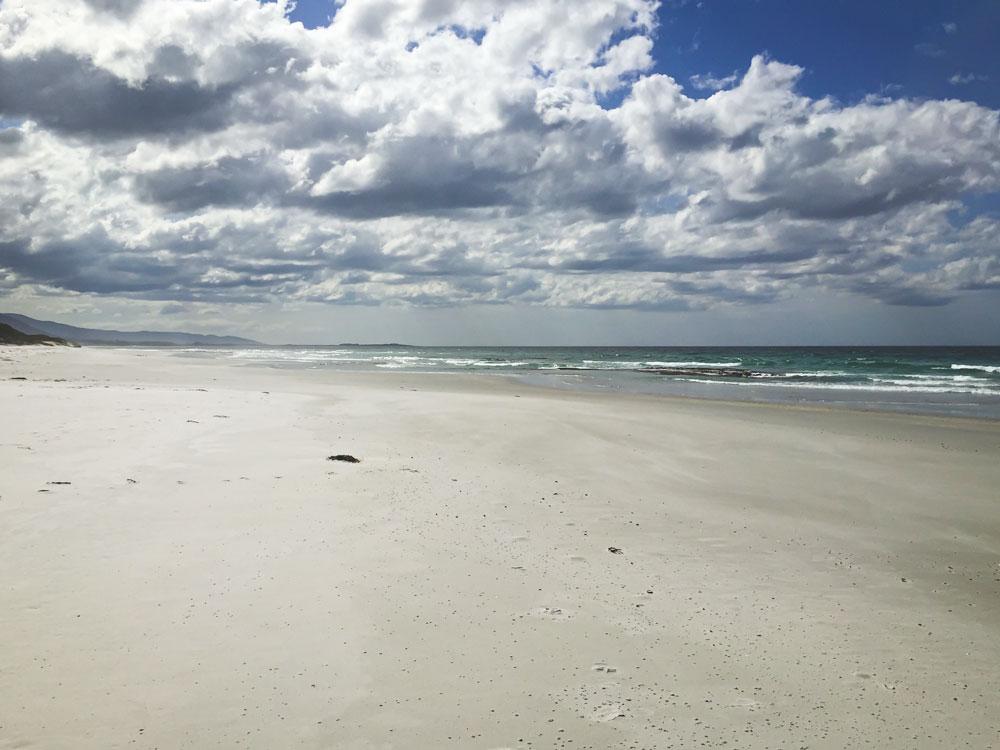 Denison Beach, Tasmanie