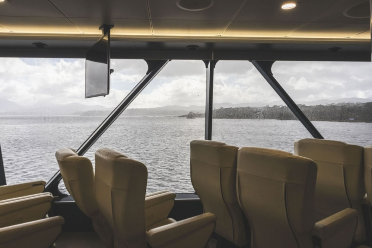 Premier Upper Deck de Gordon River Cruises