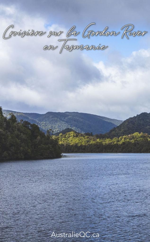 Image pour Pinterest : gordon river