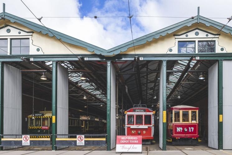 Bendigo Tram Depot