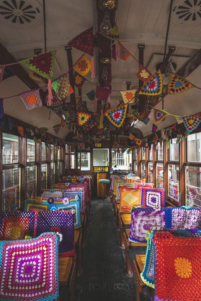 Bendigo Tram Depot, tram décoré