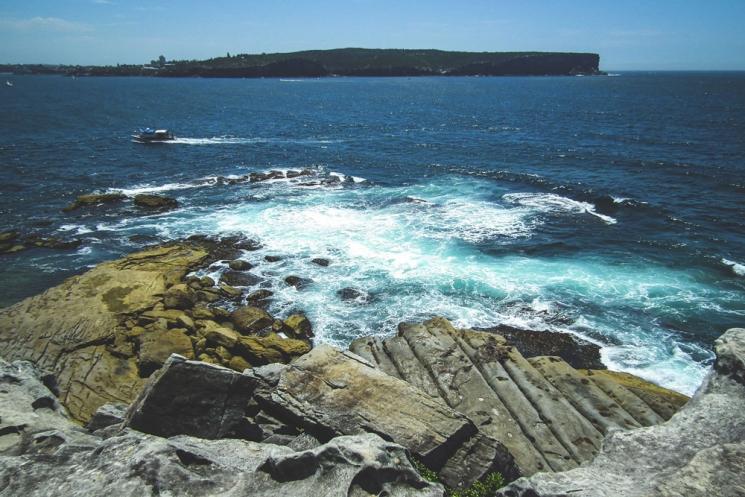 Vue sur North Head à Sydney