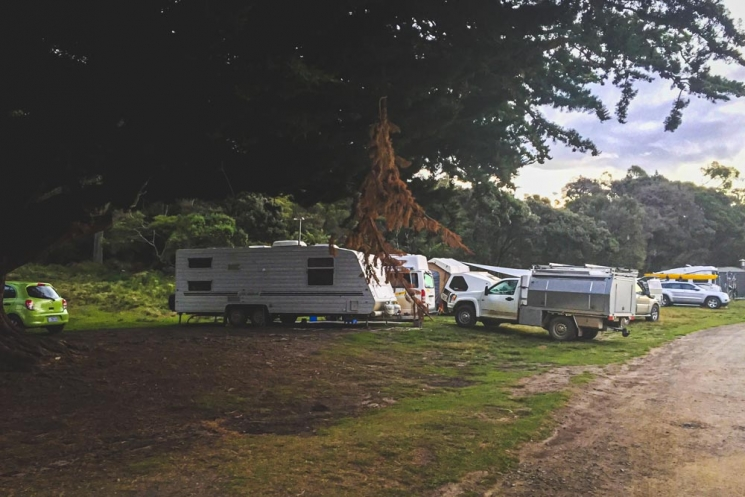 Habitants camping Boltons Green