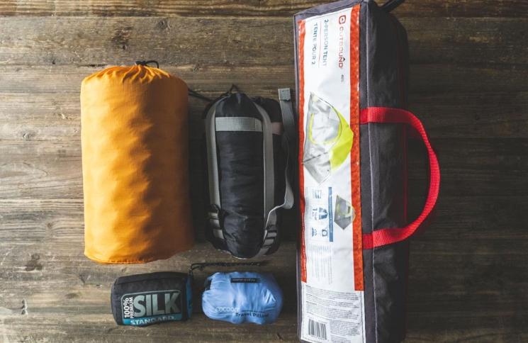 Équipement pour un séjour de camping