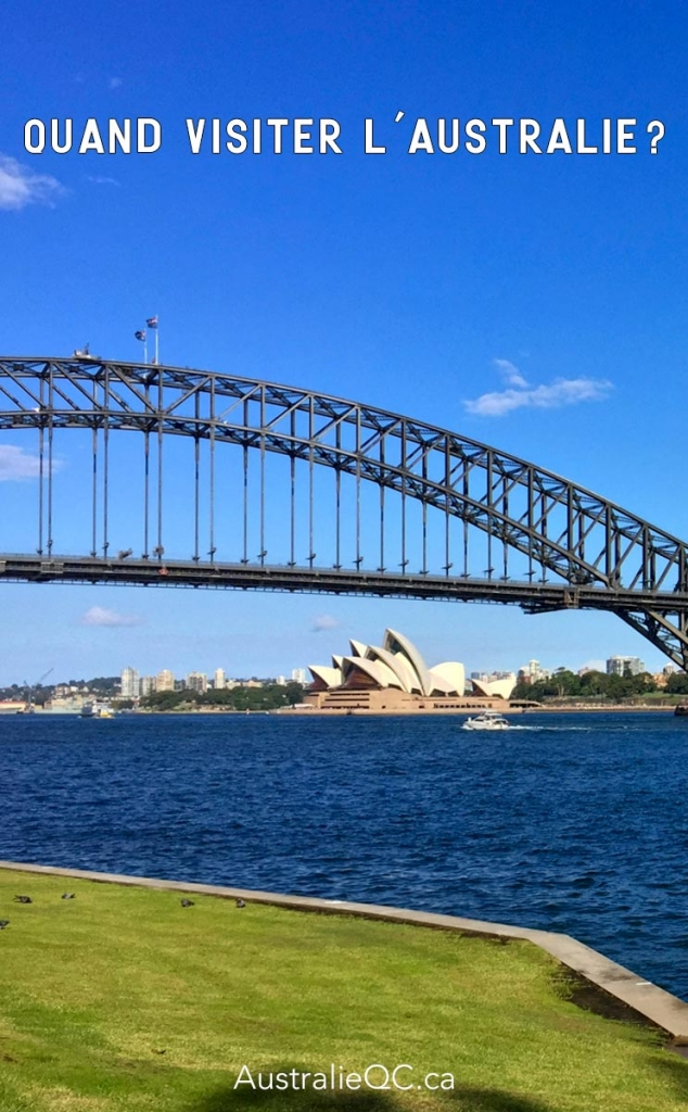 Image pour Pinterest : Quand visiter l'Australie