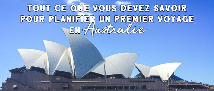 Image pour billets reliés : voyage australie